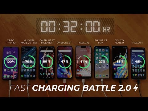 The Ultimate Fast Charging Battle 2.0!