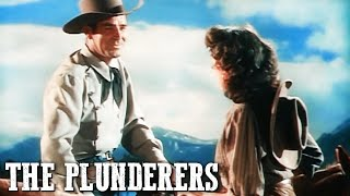 The Plunderers | American Western | Old Cowboy Movie | Full Length | English | Free Movie