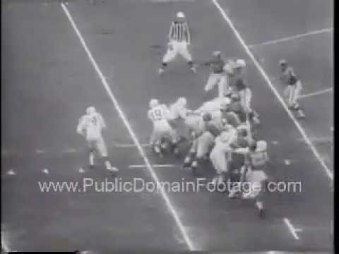 1957 Baltimore Colts lose to Los Angeles Rams
