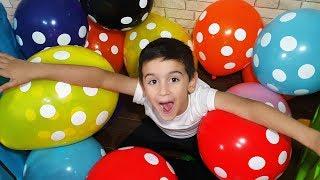 En Çok Balon Toplayan Kazanır | Balon Patlatma Oyunu | Balon Patlatma | Balon Patlatma Videoları