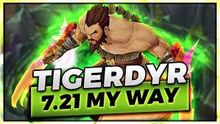 7.21 TIGERDYR MY WAY ~ THIS IS YOUR LAST CHANCE TO CLIMB! - Trick2G