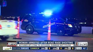 UPDATE: Woman arrested after road rage incident on Interstate 15