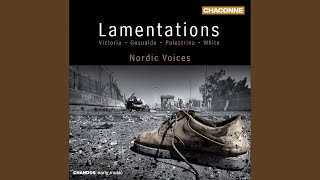 Lamentations, Book 3: Incipit oratio Jeremiae Prophetae