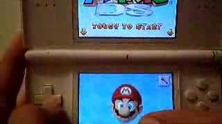 Play as bowser on Super mario 64 DS