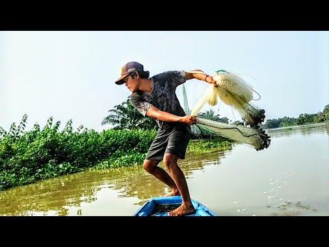 Download JALA IKAN DI SUNGAI PAS AIR LAGI PASANG..LIHAT HASILNYA ❗
