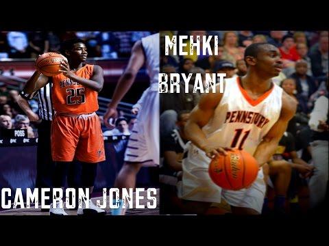 Cameron Jones & Mehki Bryant put on excelent shooting display vs Neumann-Goretti