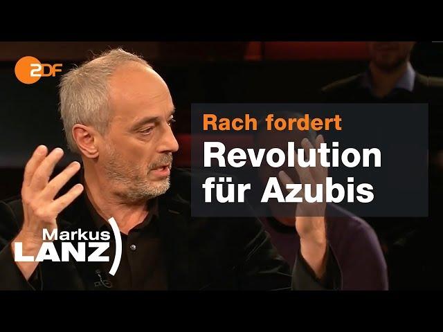 Restaurant-Tester Rach über seine 90-Stunden-Woche! Markus Lanz vom 05.11.2019 | ZDF