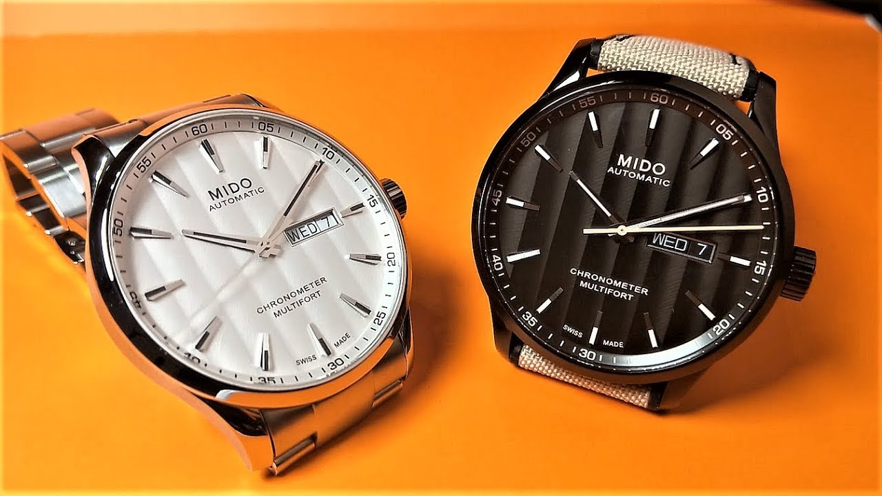 【絕對精準 性價之王】MIDO 美度 Multifort Chronometer 先鋒系列天文臺認證矽游絲腕錶 - YouTube
