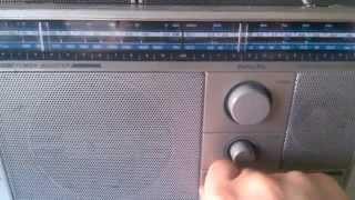 Test für Ebay : Philips D 2603 Transistorradio , Baujahr 1982