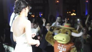 We had a very special guest join us at an amazing wedding in Houston on May 7th!