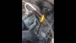 Clogged radiator