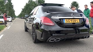 Supercars Accelerating LOUD! C63S AMG, RS3, 488 GTB, M6. GT3 RS