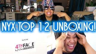 NYX Unboxing Top 12!! | PatrickStarrr