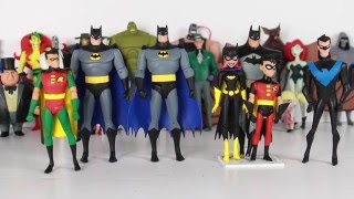 My DC Collectibles Batman The Animated Series/The New Batman Adventures  Collection video