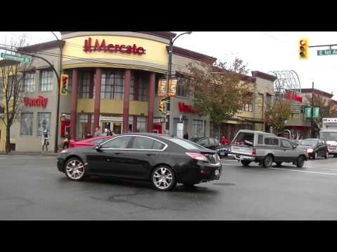 Walking in Vancouver British Columbia Canada - City Life on Commercial Drive