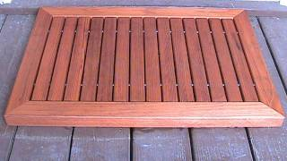 Make A Wood Doormat