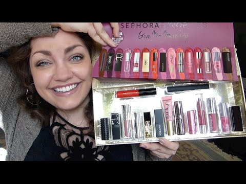 """Sephora """"Give Me More Lip"""" 2015: LIVE SWATCHES + REVIEW!!"""