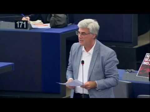 Intervention de Patrick Le Hyaric au Parlement européen sur la situation en Catalogne
