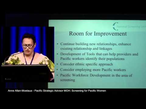 5-Anne Allan-Moetaua: Screening for Pacific Women