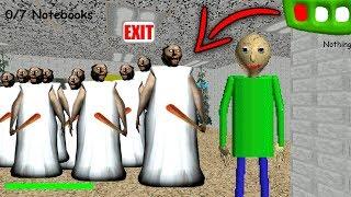 Baldi vs Granny's Army in Baldi's Basics in Education & Learning! (Granny Army vs Baldi's Basics) thumbnail