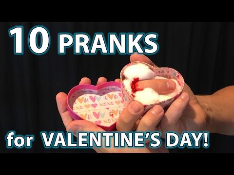 Top 10 Valentine's Day PRANKS!!