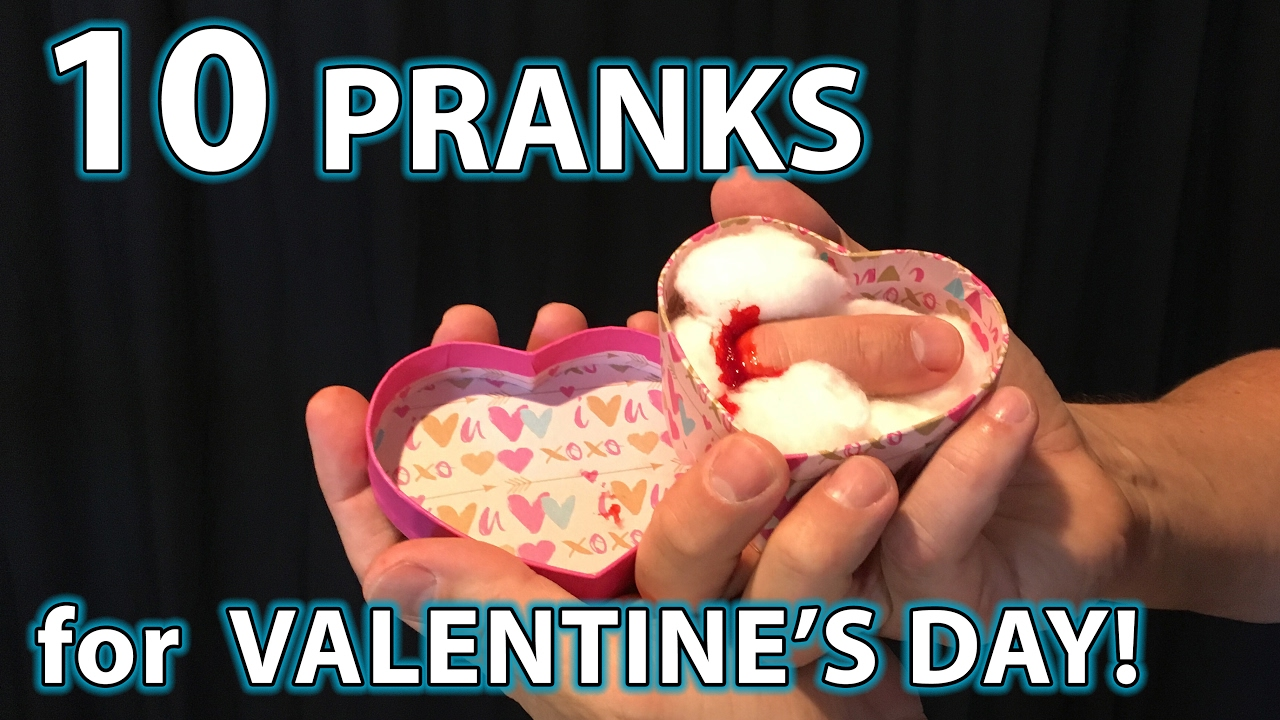 10 BEST Valentineu0027s Day PRANKS!!   YouTube