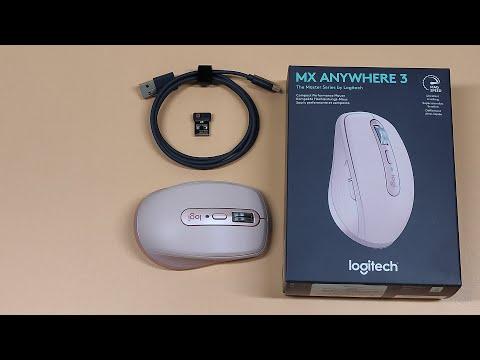 Миша Logitech MX Anywhere 3 Pale Grey (910-005989)