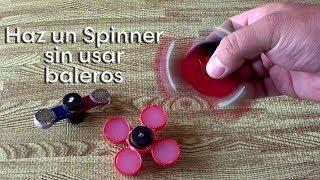 Como hacer un Fidget Spinner sin usar Baleros o rodamientos