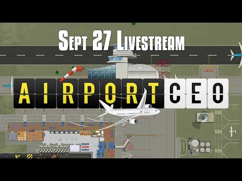 Airport CEO - FIRST LOOK! Brand New Airport Simulator | Airport CEO Livestream