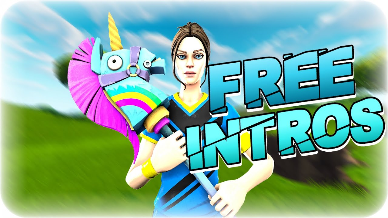Top 5 [Free] Fortnite Intros! (No Text and FREE TO USE)!