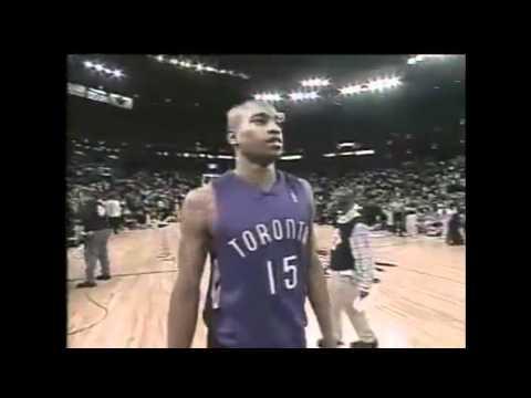Vince Carter 2000 Slam Dunk Contest Champion - It's Over Dunk