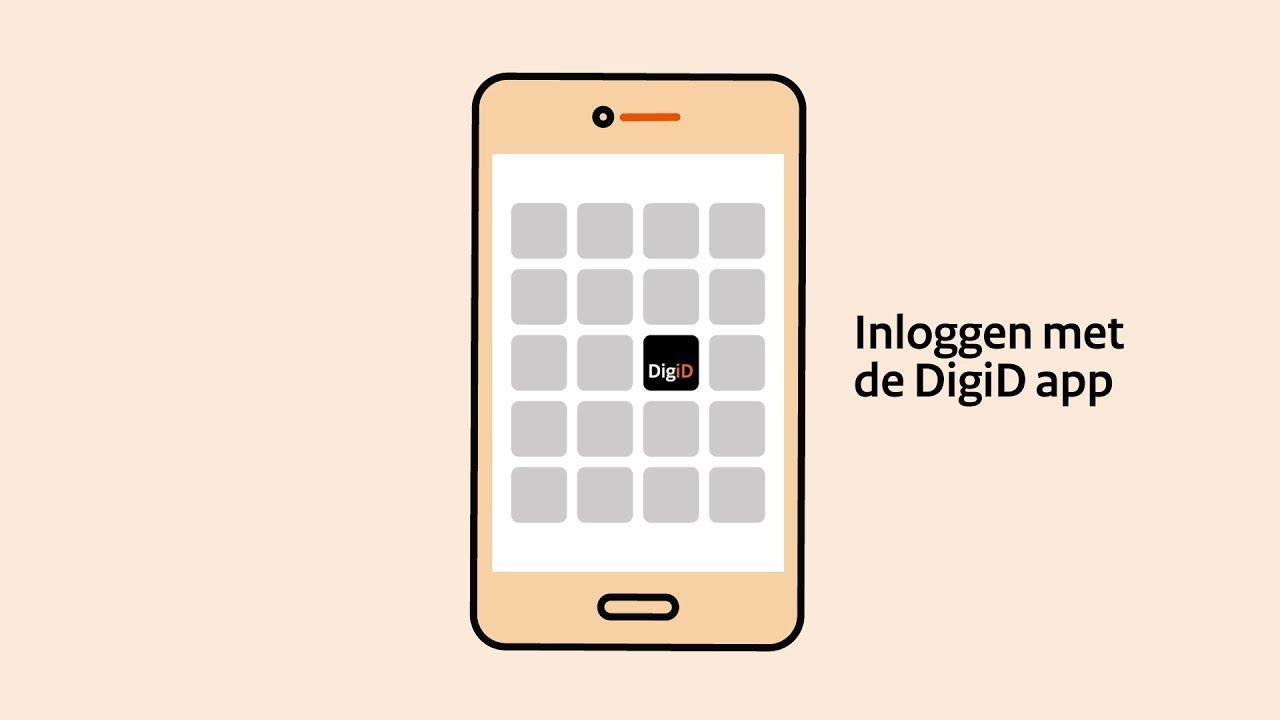 Inloggen met de DigiD app