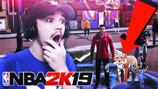 YOU DIDN'T NOTICE THIS SECRET FEATURE IN THE NEIGHBORHOOD TRAILER NBA 2K19 😳