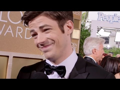 Grant Gustin Golden Globes Interview