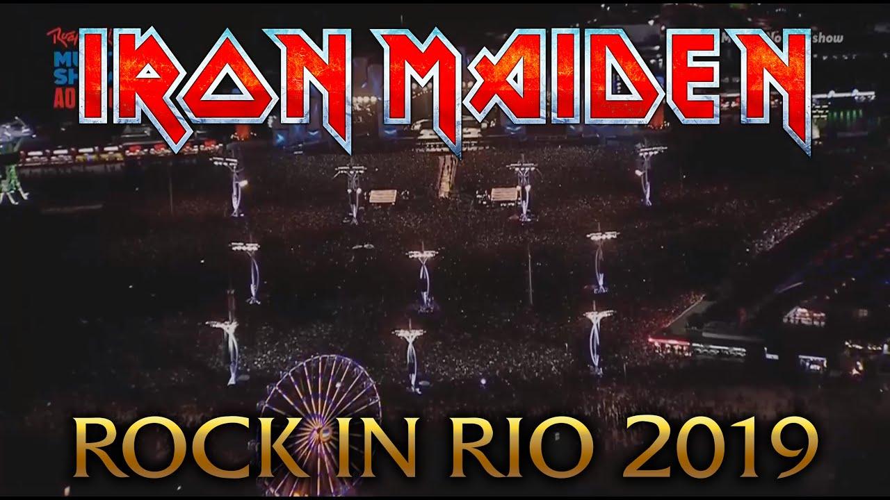 Iron Maiden - ROCK IN RIO 2019 (FULL SHOW HD)