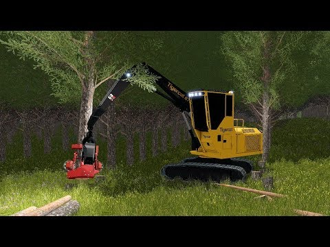 Farming Simulator 17 - Forestry and Farming on Woodshire 064 thumbnail