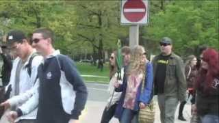 Toronto Global Marijuana Weed March May 11th 2013 Footage - Part 2 of 2