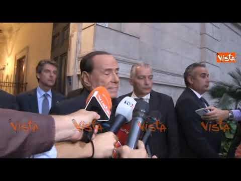 """Berlusconi: """"Il Centrodestra presto tornerà al Governo"""""""