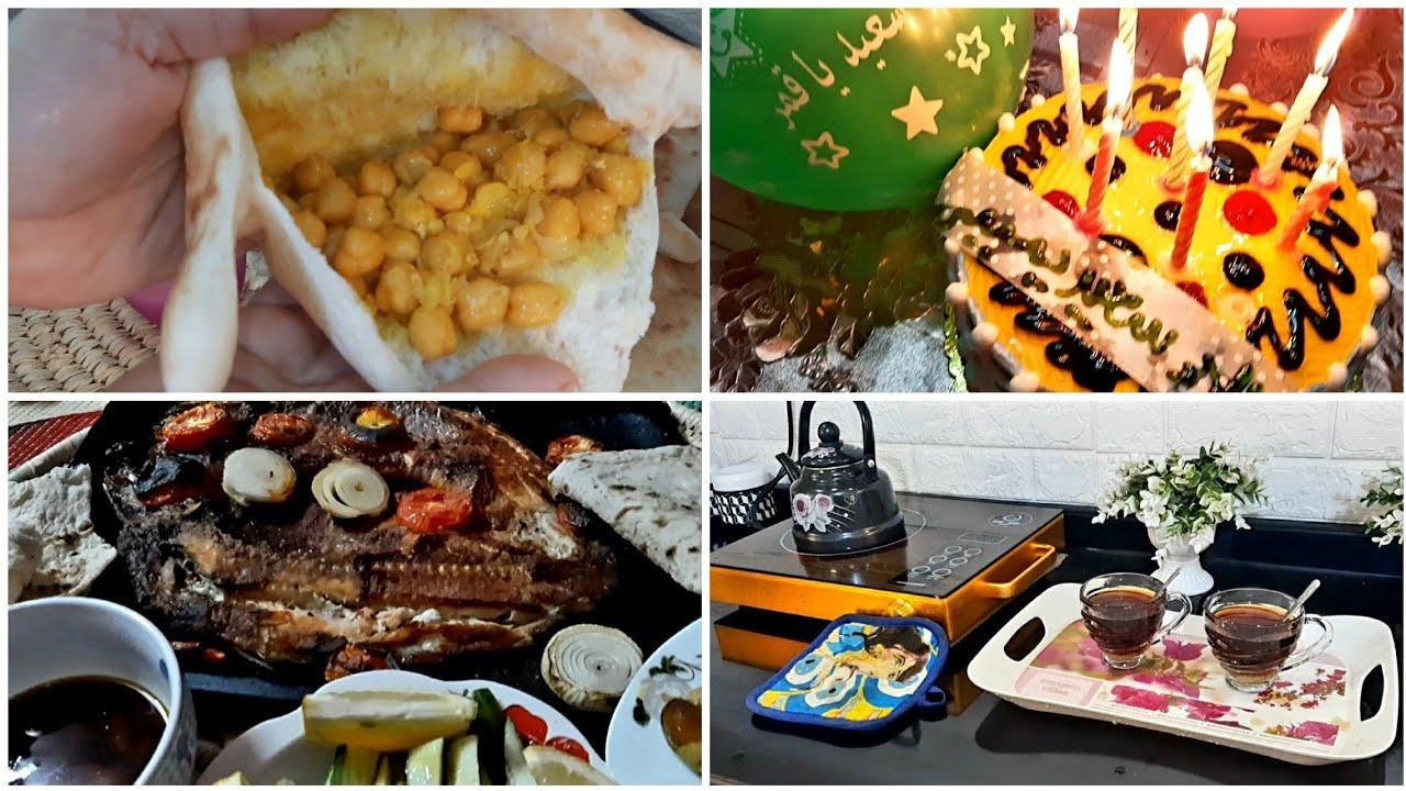 ريوك  لبلبي بيع امك واشتري هههه + غدة شوي سمج عشق وتنظيف طباخ + احتفالية عيد غدير خم 😂