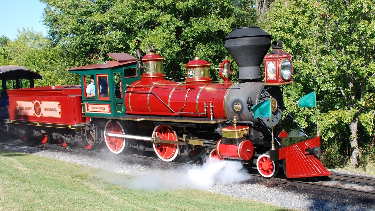 disney walt railroad roy train magic kingdom ride track closing construction wikipedia file trains steam locomotive railway engine