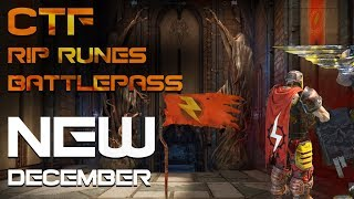 BATTLE PASS, CTF and LOOT REWORK! QUAKE NEWS for OCTOBER '18 - Quake Champions