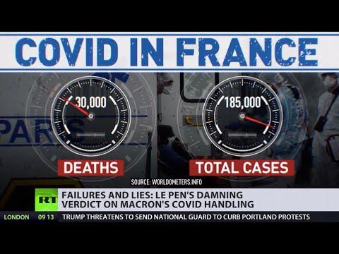 'Coronavirus Black Book' | Le Pen writes damning summary of French govt's COVID handling