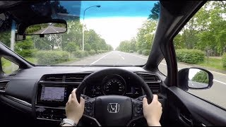 【試乗動画】2017 新型 ホンダ フィット ハイブリッド S Honda SENSING 4WD - 市街地試乗