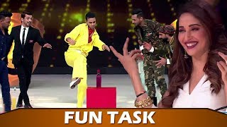 Dance Deewane 2: Madhuri's FUN TASK To Arjun, Puneet, Dharmesh & Raghav | Who Won?