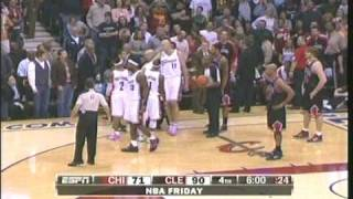 LEBRON FIGHTS JOAKIM NOAH but real talk he need to stop fighting
