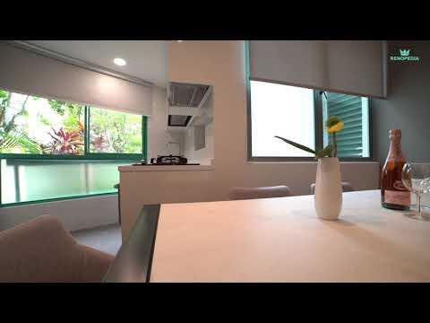Interior Design Singapore | Modern Clean Loft House (Albedo Design)