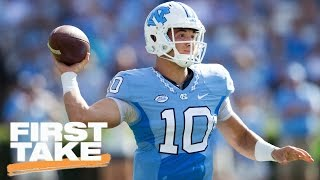Should Browns Draft Garrett Or Trubisky With No. 1 Pick? | First Take | April 12, 2017