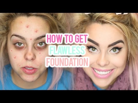 ACNE FOUNDATION ROUTINE FOR FLAWLESS SKIN (FULL COVERAGE TUTORIAL) I Nicole Matthews I
