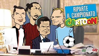 AUTOGOL CARTOON - Riparte il campionato