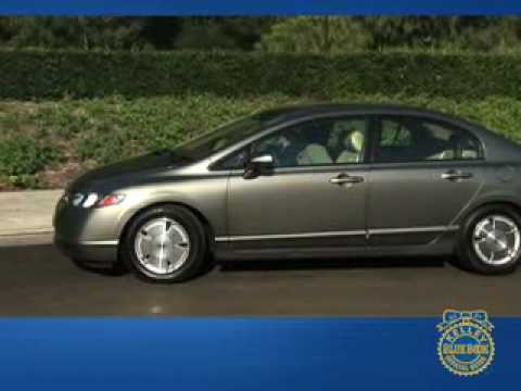 2006 Honda Civic Hybrid Review - Kelley Blue Book - YouTube